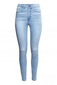 Idealne jeansy z wysokim stanem. piękne są