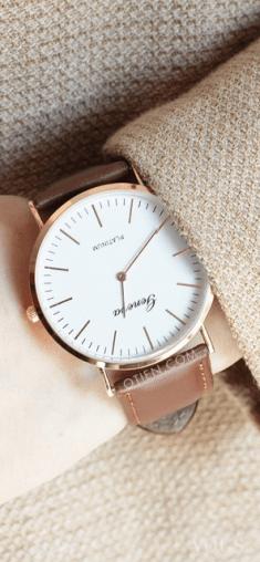 Zegarek brązowy a'la Daniel Wellington klasyczny idealny na prezent