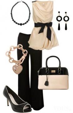 beige – back style