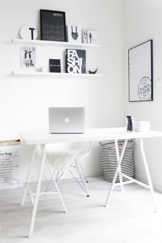 Piękne wnętrze. idealny biały pokój