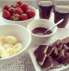 Czekolada na śniadanie? To nie może być dietetyczne ;)