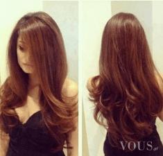 Śliczne włosy, długie idealne
