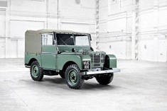 Old Land Rover Defender