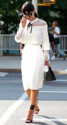 total white style