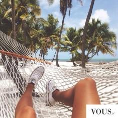 Leżakowanie, plaża, trampki! Idealne wakacje <3