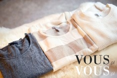 sweterki idealnie ułożone. macie porządek w szafie, kto potrafi odpowiednio składać ubrania?
