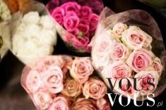 Bukiety z róż. Lubicie dostawać kwiaty? Kwiaty są dobrym pomysłem na prezent?