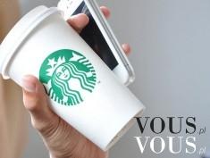 Kawa ze Starbucks i iPhone. Lubicie kawę ze Starbucks?