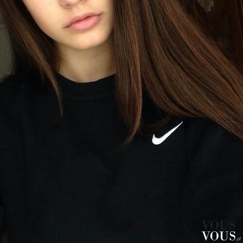 przystojny autentyczna jakość kup dobrze Czarna sportowa bluza nike dla dziewczyn ⋆ VOUS.pl
