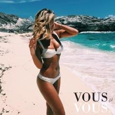 Sylwetka fit, jak dobrze wyglądać na plaży? Najlepszy strój kąpielowy dla opalonej, opalona dzie ...
