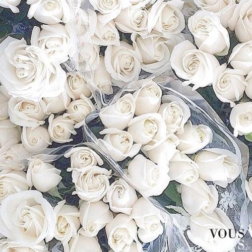 Białe róże. Doskonała dekoracja.