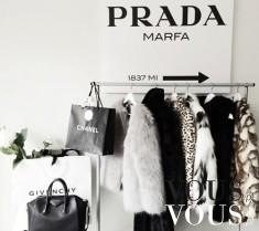 Prada, Chanel, Givenchy- marzenie każdej kobiety.
