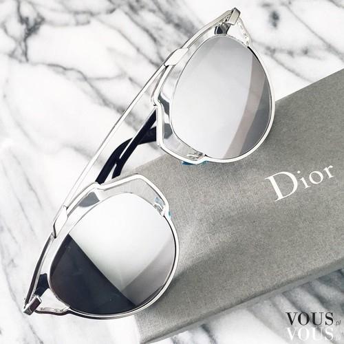 97fa23bef1fc7b Okulary przeciwsłoneczne Dior. Okulary lustrzanki. ⋆ VOUS.pl