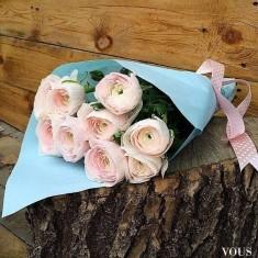 Śliczny bukiet z róż