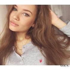 Naturalne piękno brunetki