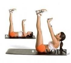 Ćwiczenie na płaski brzuch
