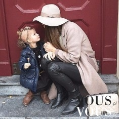 Modna mama i córka