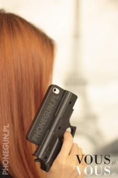 Etui pokrowiec pistolet nowy od reki iphone – Case w kształcie pistoletu do iPhone'a 4/ 4s ...