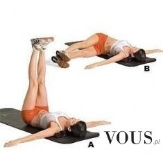 Super ćwiczenie na płaski brzuch