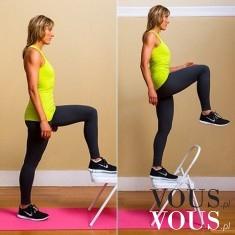 Super ćwiczenie na zgrabne nogi i okrągłe pośladki