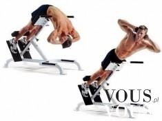 Ćwiczenie na ławce rzymskiej, wzmocnienie dolnych partii kręgosłupa