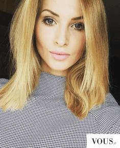 Śliczna i idealna Paulina Jagodzińska. Blogerka modowa uwielbia podróżować i prowadzi bloga modo ...