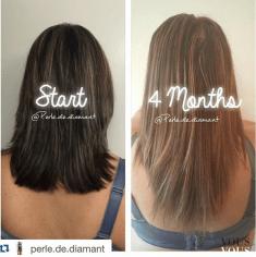 Efekty po braniu tabletek hairburst. Włosy zdecydowanie urosły!