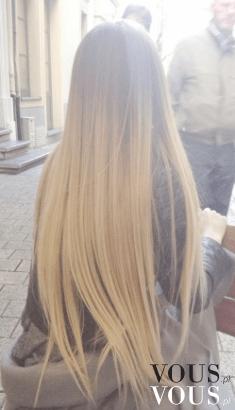 Bardzo długie blond włosy- śliczne!