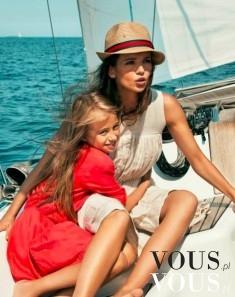 Aktorka Anna Przybylska na wakacjach ze swoją córką