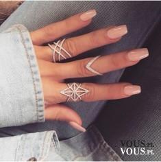 Piękne srebrne pierścionki