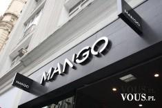 Sklep MANGO ze stylowymi ubraniami
