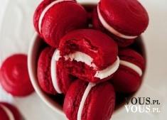 ciastka w czerwonym kolorze, jak zrobić takie ciasteczka