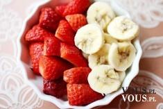 truskawki i banany