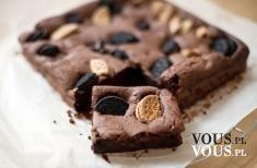czekoladowe ciasto z ciasteczkami
