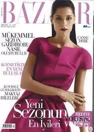 turecka okładka BAZZAR Cansu Dere – modelka, chuda, ile waży, firuze hatun księżniczka wsp ...