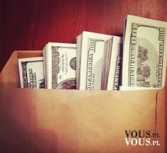 Koperta z banknotami. Maska pieniędzy! Co kupiłybyście za taką gotówkę? :)