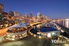 Panorama miasta. Miasto nocą.