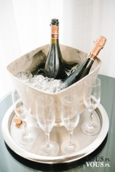 Szampan na specjalne okazje. Zmrożony szampan