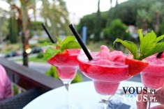 Owocowy letni drink- orzeźwiający napój