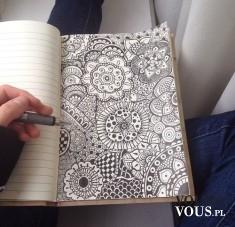 Szkicowany obrazek. Lubicie rysować?