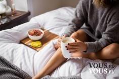 Śniadanie do łóżka <3 Leniwy poranek