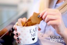 Eat me! <3 Pyszne i pachnące ciasteczka korzenne. Kruche ciasteczka.
