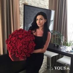 Czerwone róże. Piękny bukiet czerwonych kwiatów