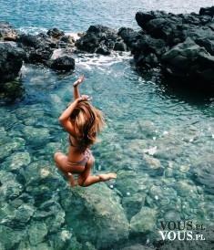 Skok do wody. Wakacyjne szaleństwo. Jak spędziliście swoje wakacje?