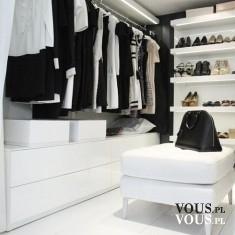 Duża przestronna garderoba. Marzenie każdej kobiety!