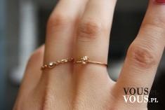 delikatne pierścionki