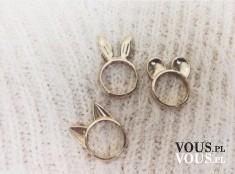 pierścionki z uszami, modne pierścionki, modna biżuteria