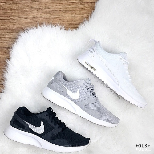 timeless design a9fa3 2fe7a Buty sportowe nike- białe, szare, czarne. Które Wy byście wybrały