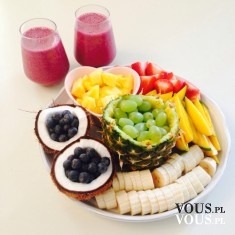 posiłek z owoców