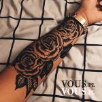 Złoty Rysunek Na Obojczyku Czy To Tatuaż Vouspl